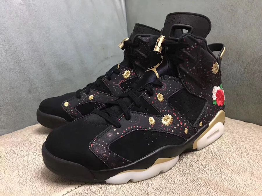 detailed look 554c3 3deac Air Jordan 6 CNY Chinese New Year Release Date | New Jordans ...