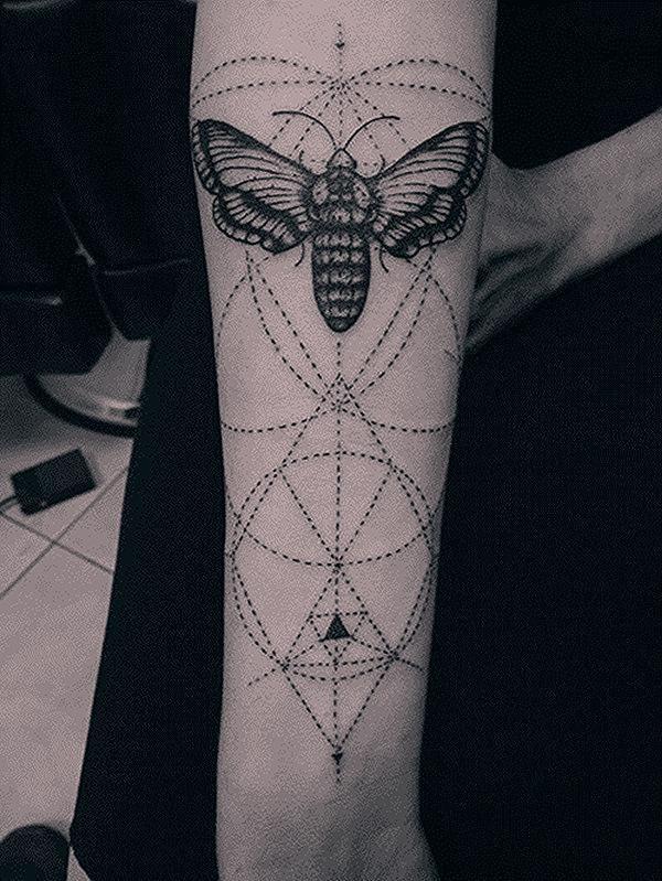 geometric tattoo artist london