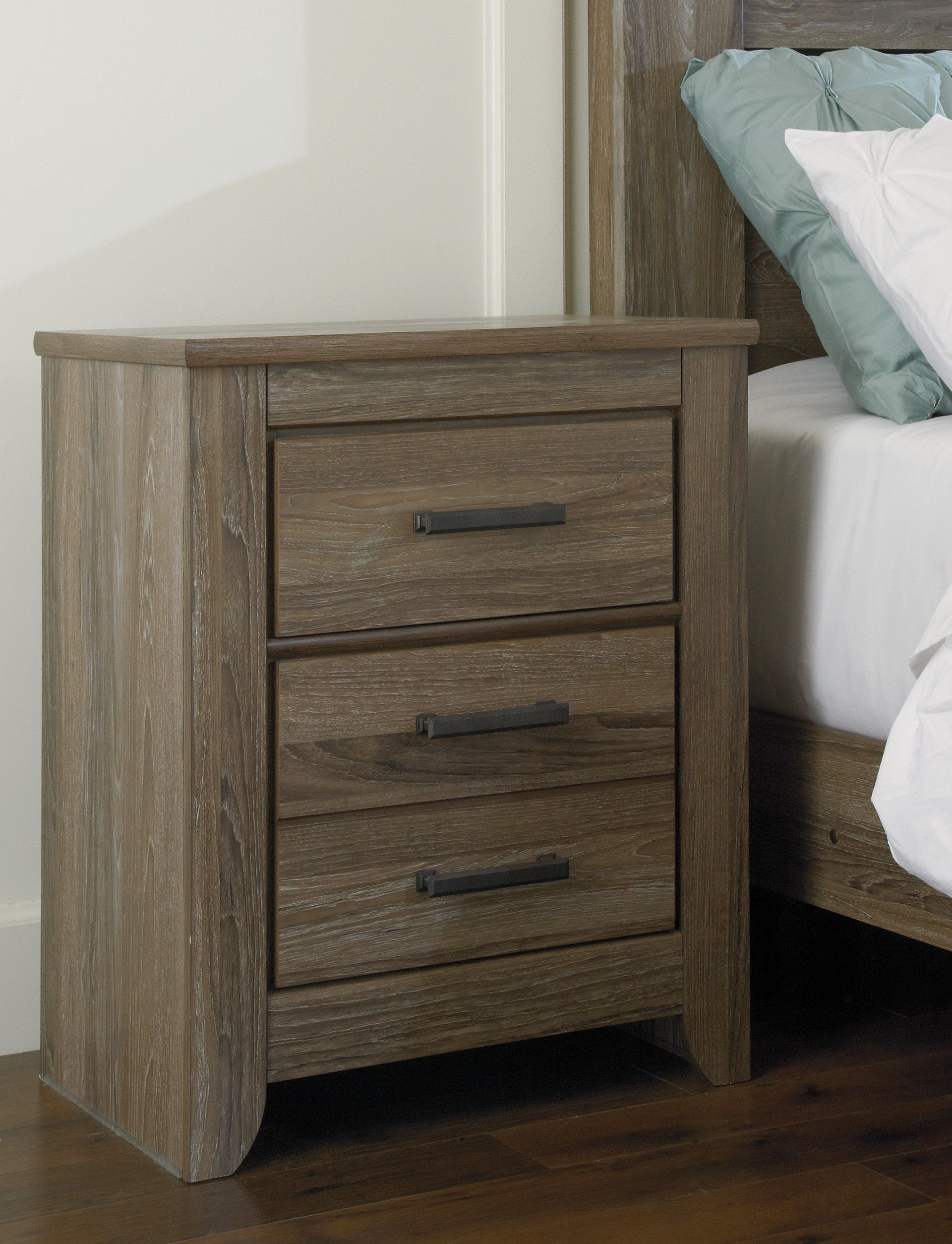 Ashley Zelen B248 92 Signature Design Two Drawer Night