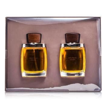 Vera Wang Coffret: Eau De Toilette Spray 100ml-3.4oz + After Shave Splash 100ml-3.4oz - 2pcs