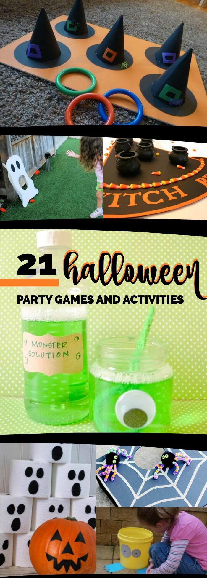 21 Halloween Party Games, Ideas & Activities | Halloween party ...