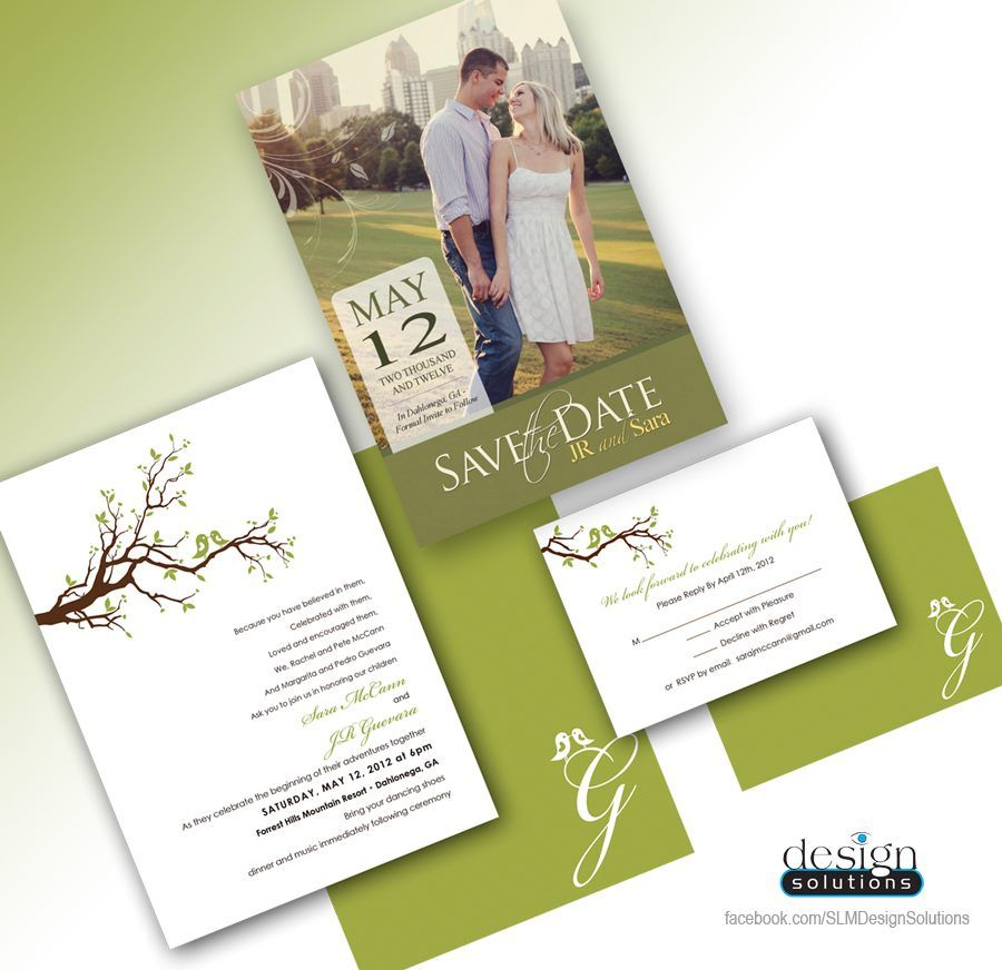 Save the Dates and Wedding Invitations! Custom designs and ...