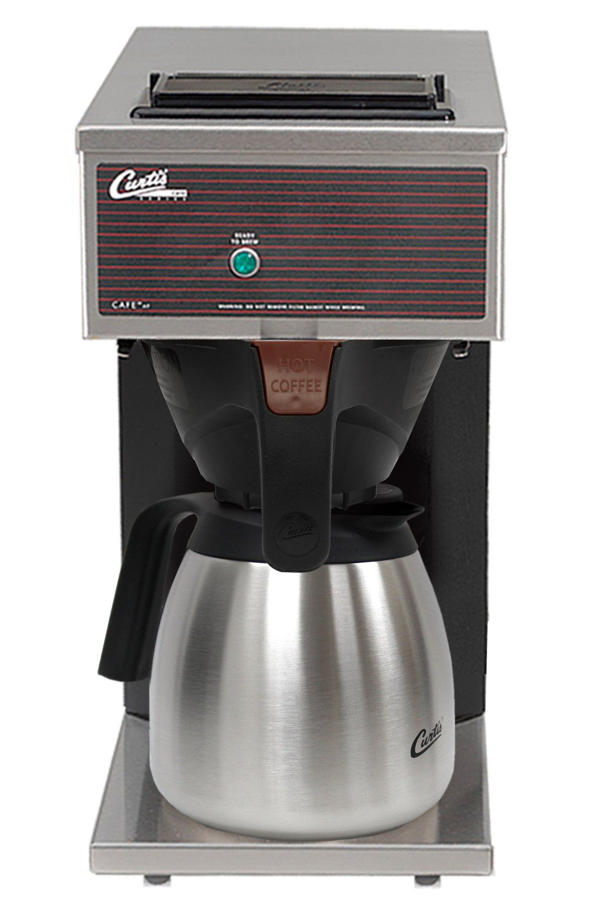 Wilbur Curtis Commercial Pourover Coffee Brewer 64 Oz Low