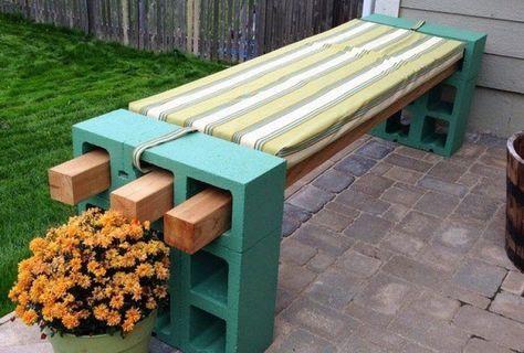 Comment organiser votre jardin avec de simples blocs de béton - Faire Une Terrasse En Beton