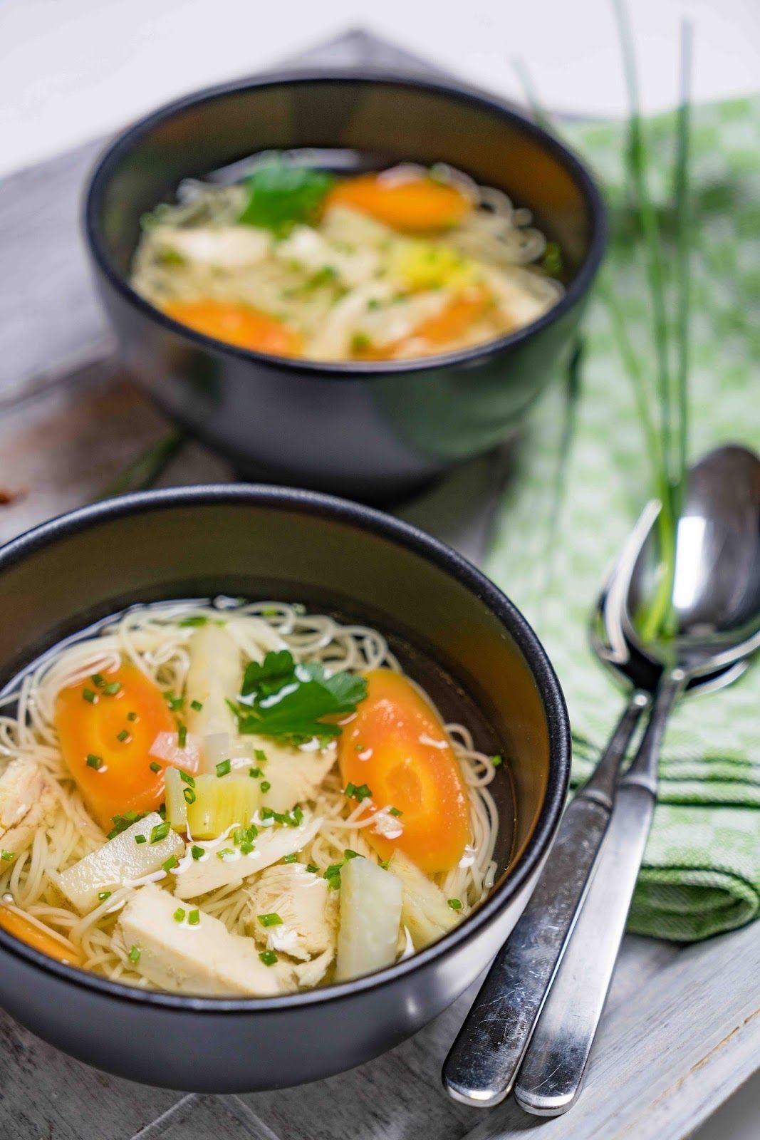 stuttgartcooking: Hühnersuppe mit Gemüse und Nudeln