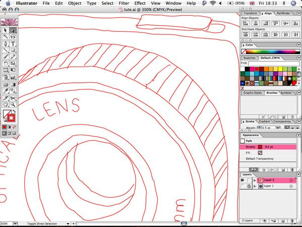Create a Sketchy Illustration in Illustrator - using the 'wrinkle