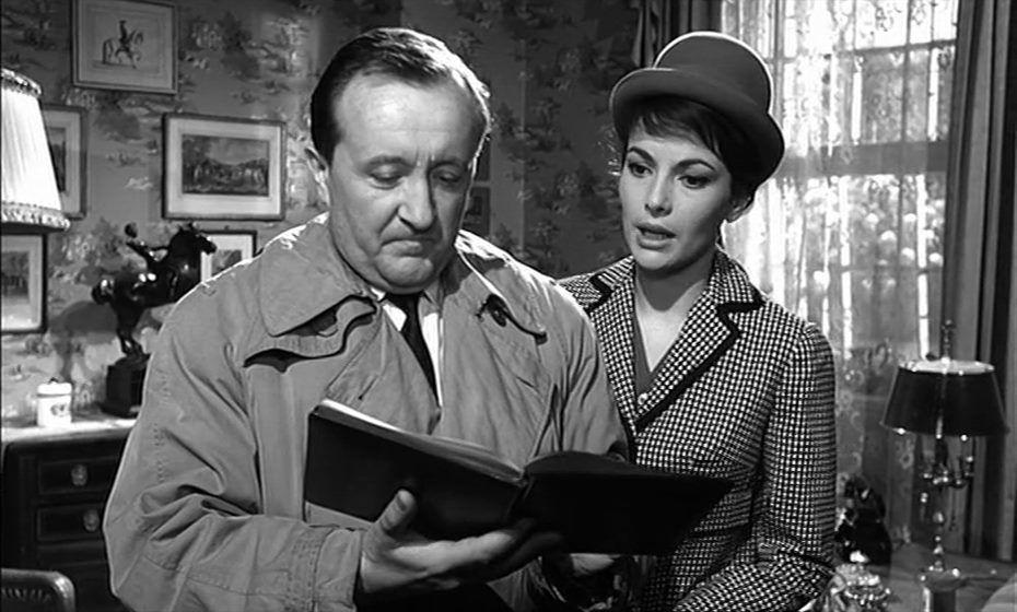 Siegfried Lowitz Karin Dor In Der Falscher Von London D 1961 Alte Filme Filme Alter