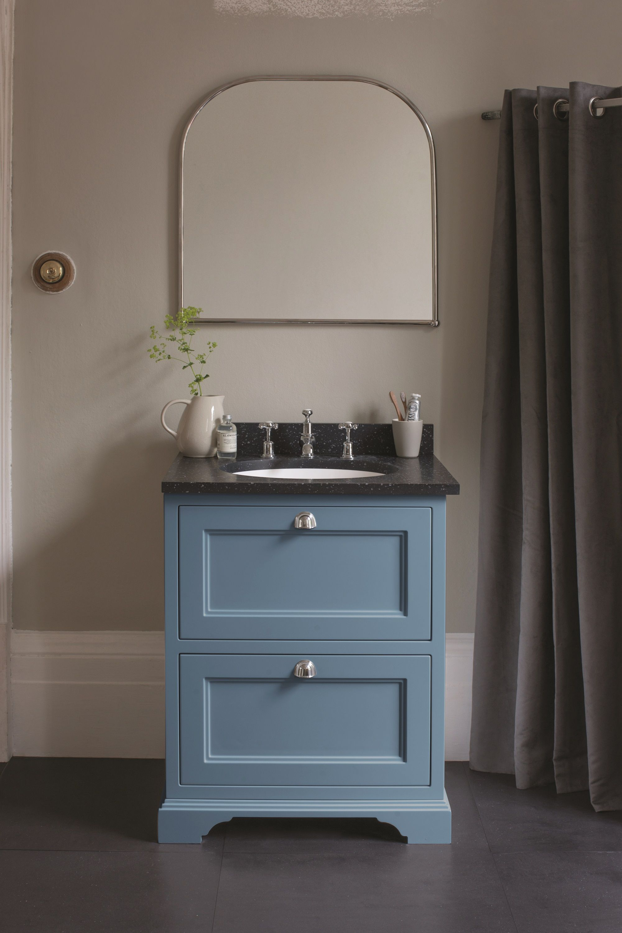 Burlington Furniture In Farrow And Ball Cooks Blue