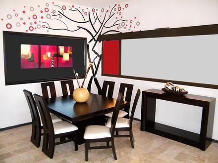 Decoraci N De Salas Y Comedores Minimalistas5 Casa Pinterest Ideas Para House And Dinning