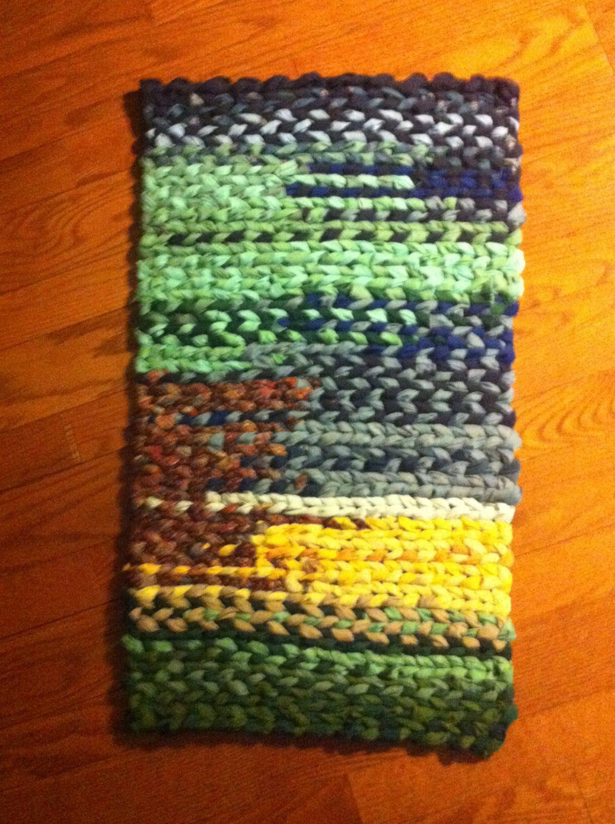 Rug woven on a Salish Loom by Ilene | Weaving | Pinterest