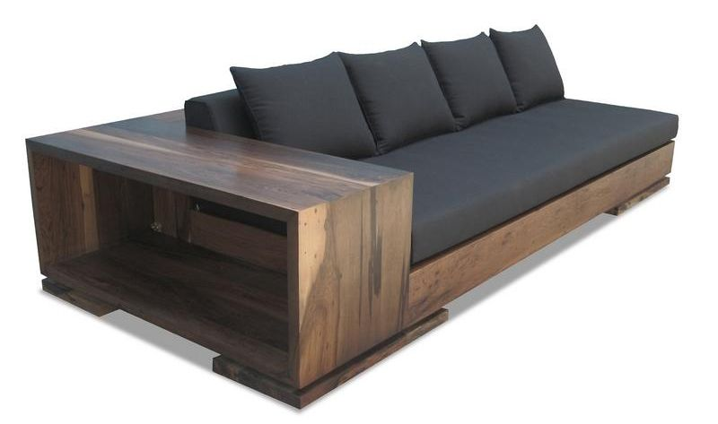 Simple wooden sofa designs there are tons of helpful hints for Outdoor sofa plans