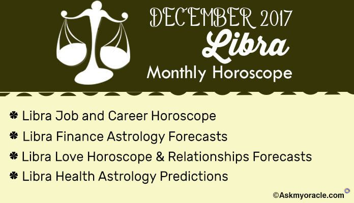 libra horoscope love december