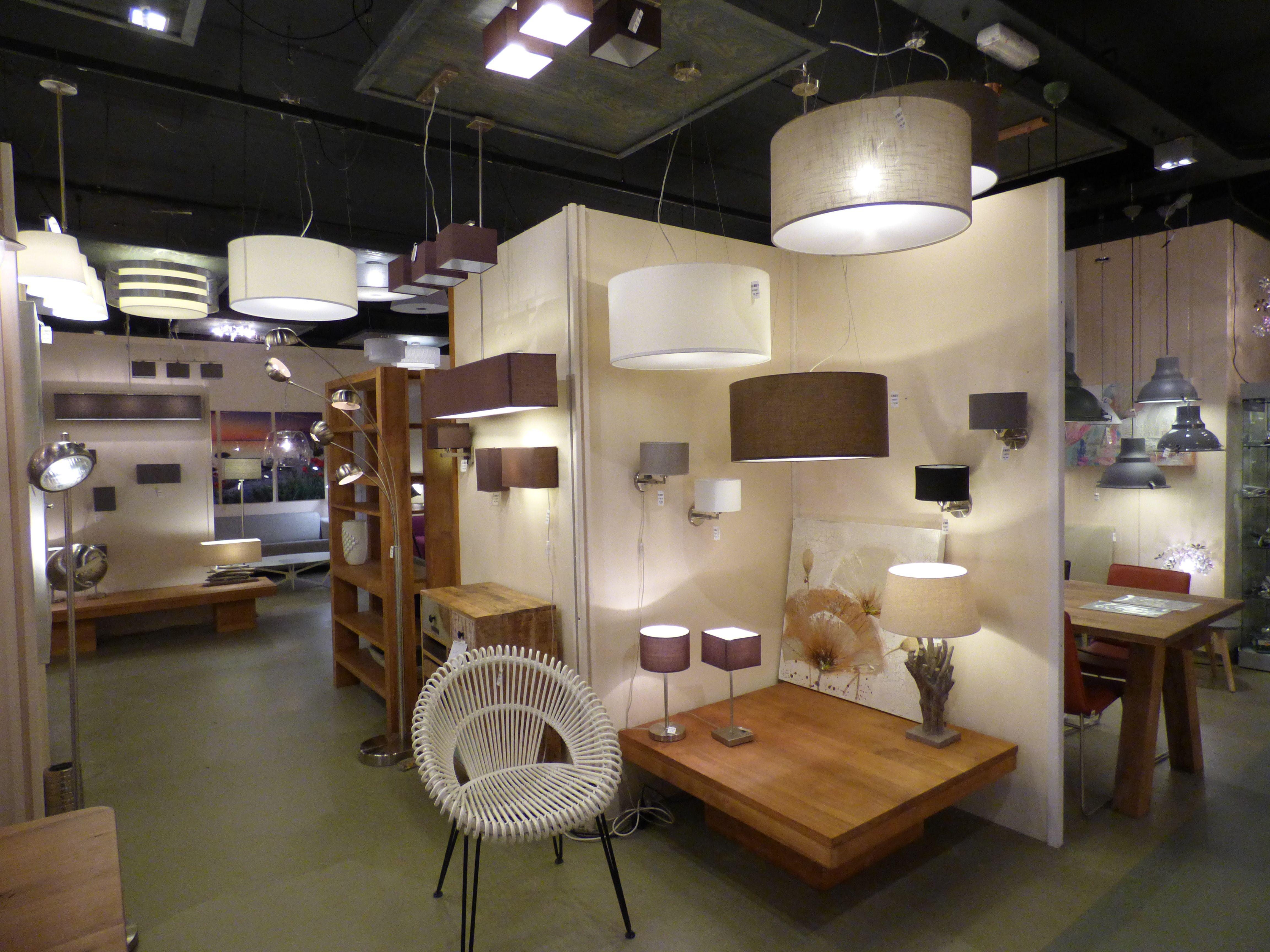 Showroom winkel interieur verlichting landelijk u nederland