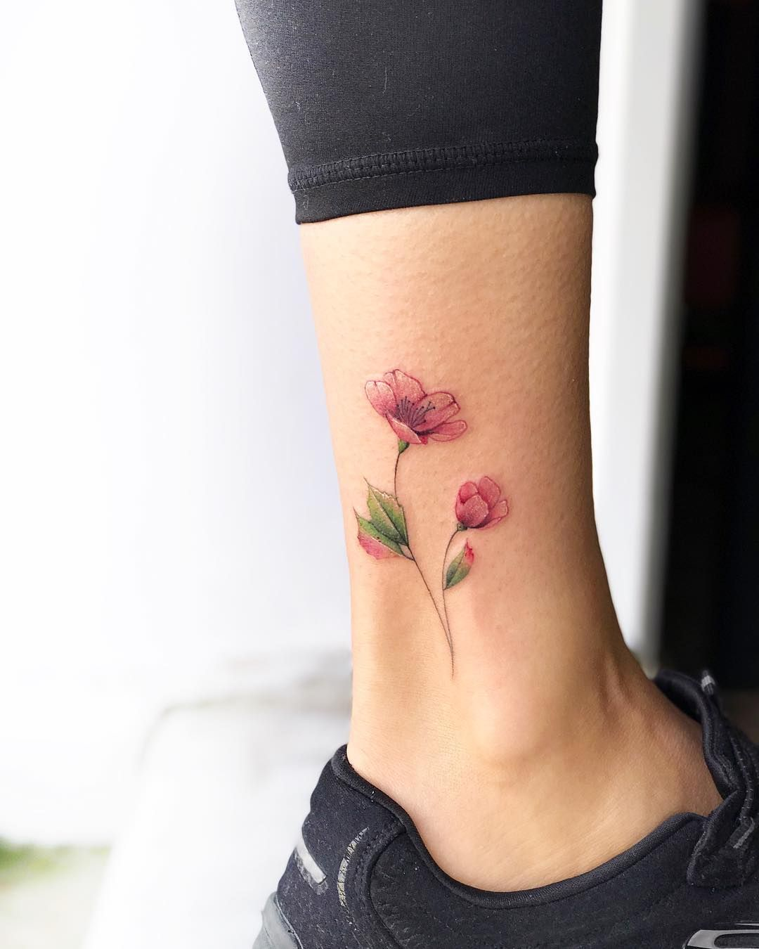 24++ Awesome Female ankle tattoos pictures ideas in 2021