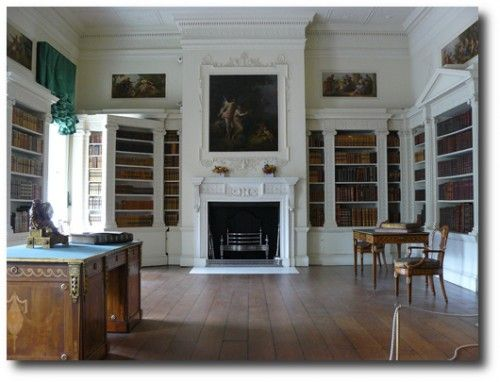 Subtle Difference The Osterley Library With Norris Books Added Find This Pin And More On Interior Design Georgian