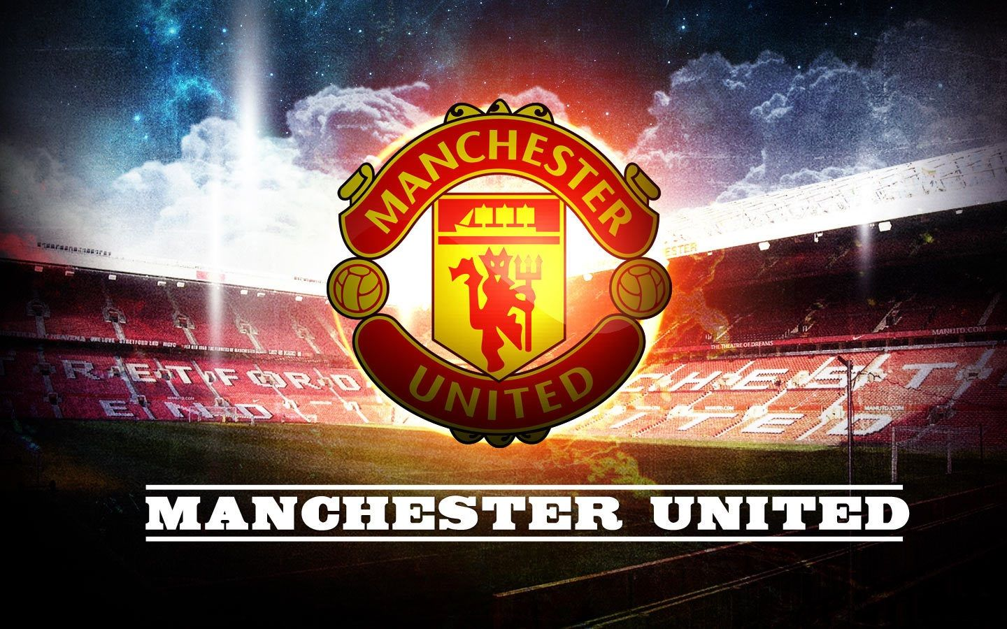 Manchester United Logo Football Club Wallpaper 11587 Wallpaper Manchester United Wallpaper Manchester United Logo Manchester United