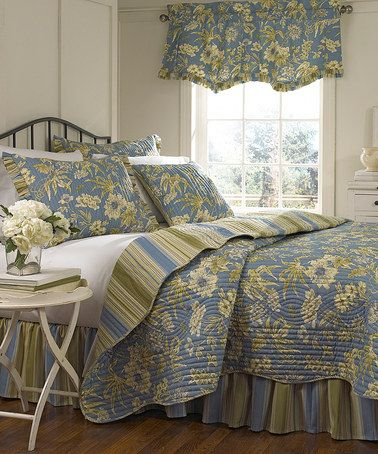 Take A Look At This Chambray Augustine Quilt Set By Ellery