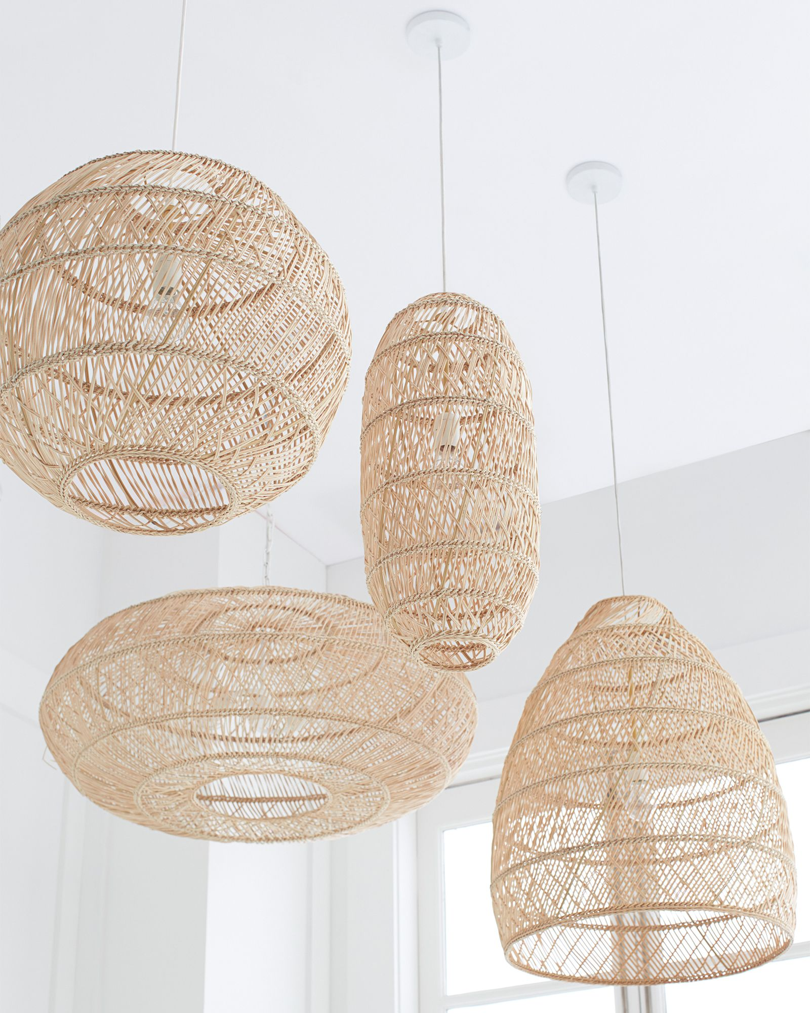 Headlands Oblong Pendantheadlands Oblong Pendant Boho Lighting Open Weave Pendant Contemporary Pendant Lights