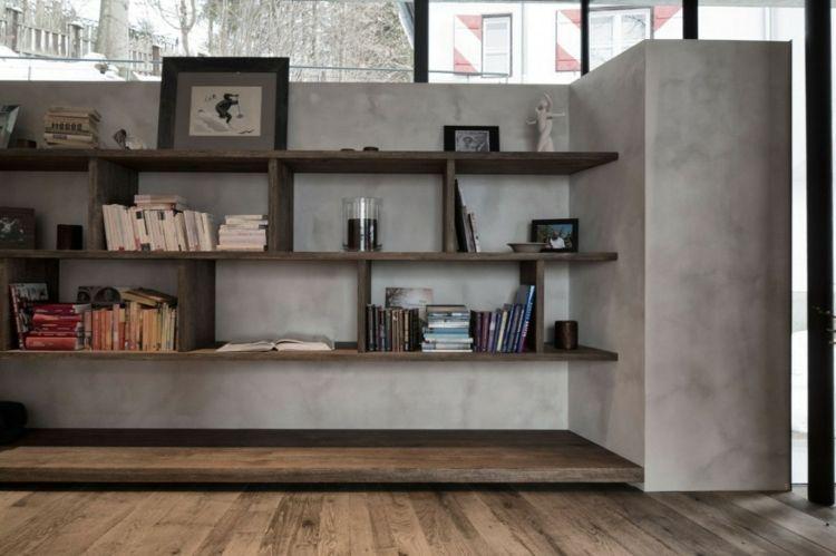 Librerias para salon - diseños modernos y funcionales - | Diseño ...
