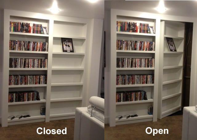 hidden door bookcase - Google Search & hidden door bookcase - Google Search | Basement Remodel | Pinterest ...