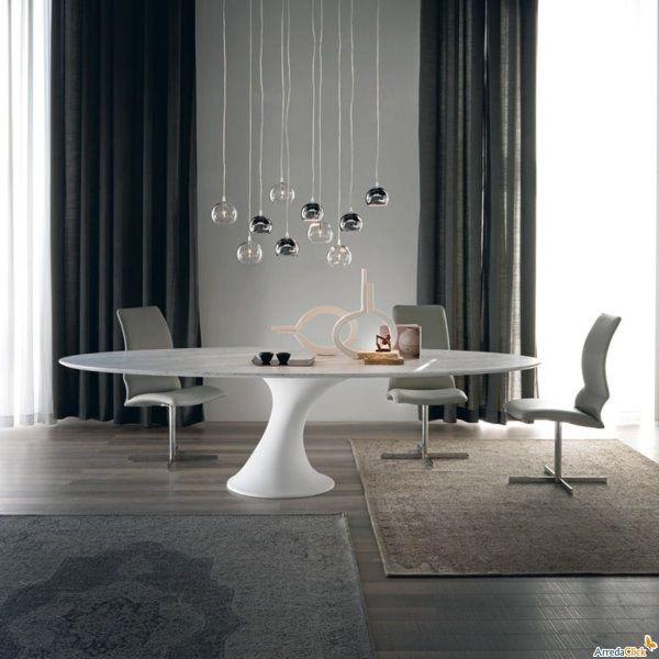 tavolo-per-soggiorno-moderno-reef | interior design | Tavolo, Tavoli ...