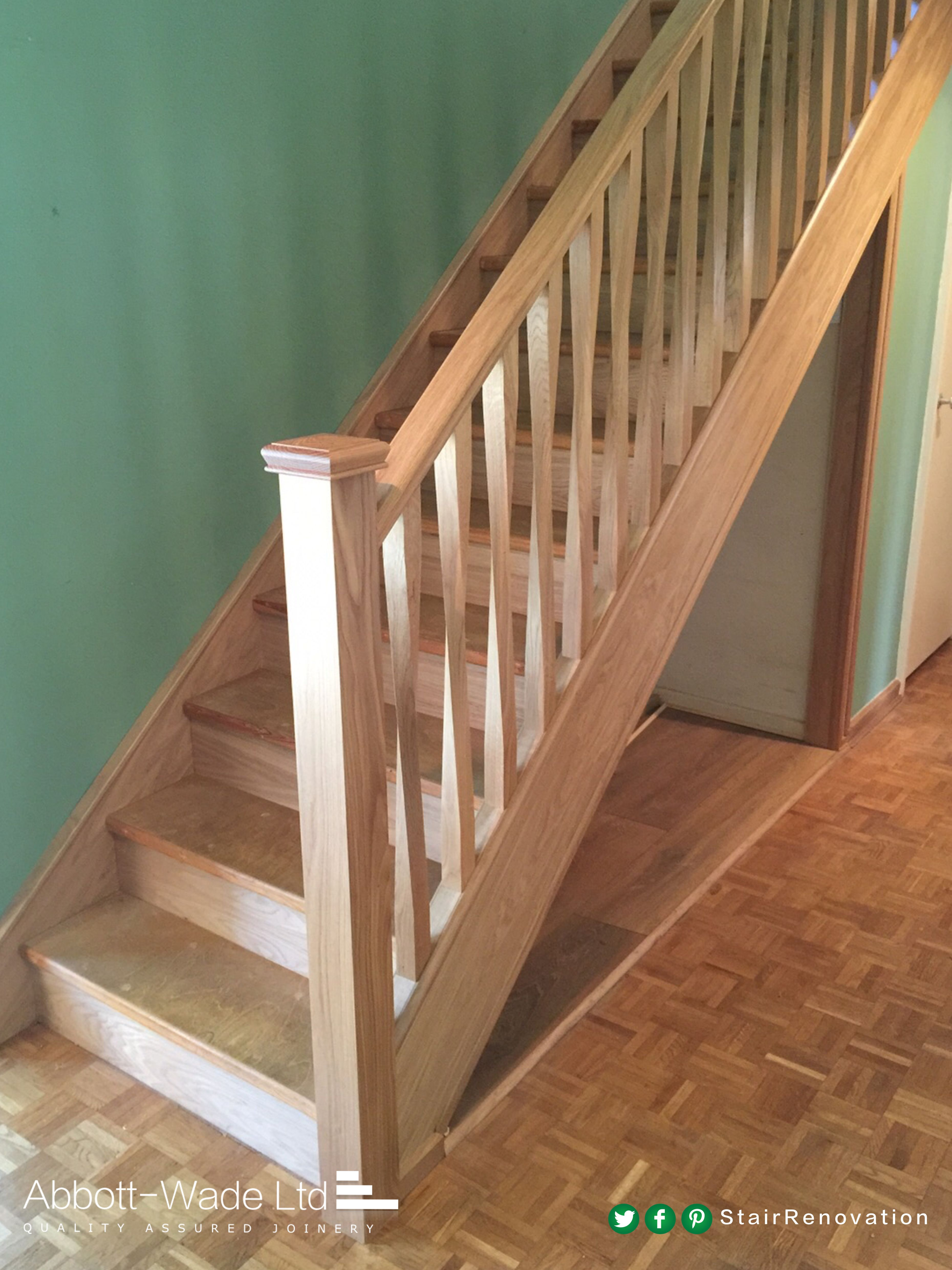 Pin by AbbottWade Staircases on Timber Staircase