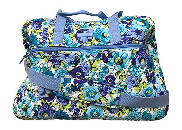 Amazon.com  Vera Bradley Grand Traveler Bag, Bandana Swirl  Shoes ... 1abd6db03e