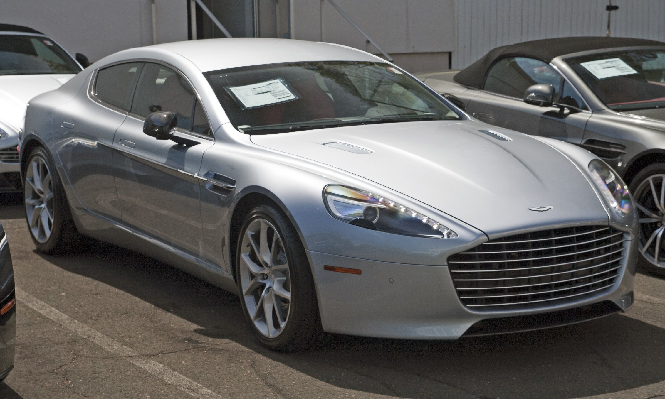 how much is an aston martin rapide
