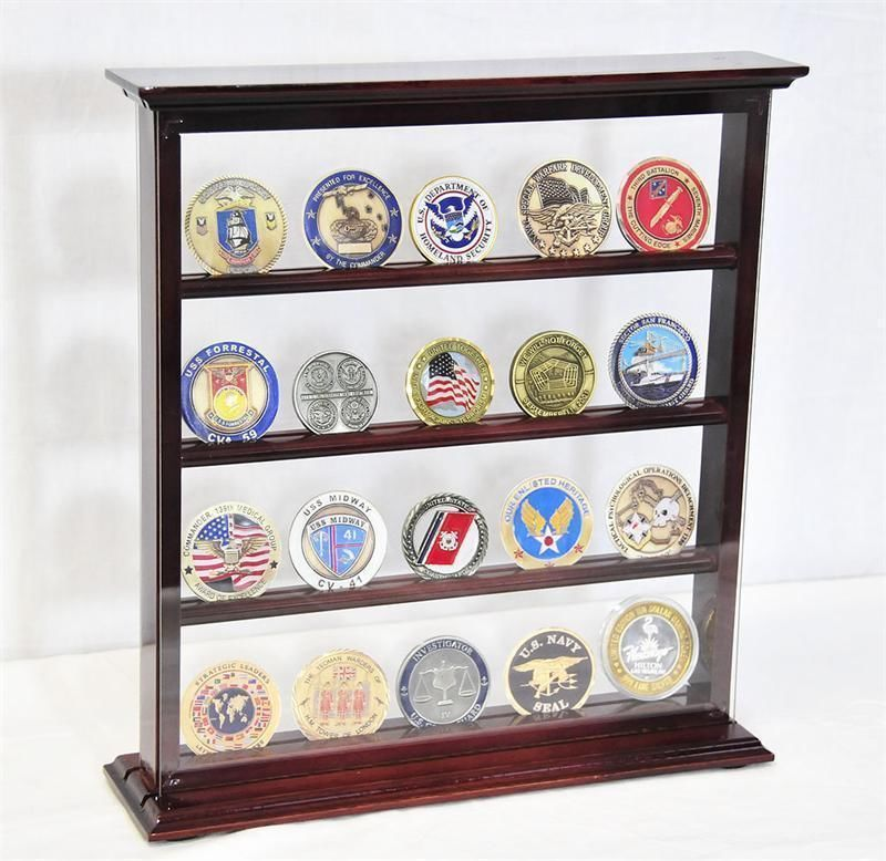 Amazing Military Challenge Coin Holder Military Coin Display Stand