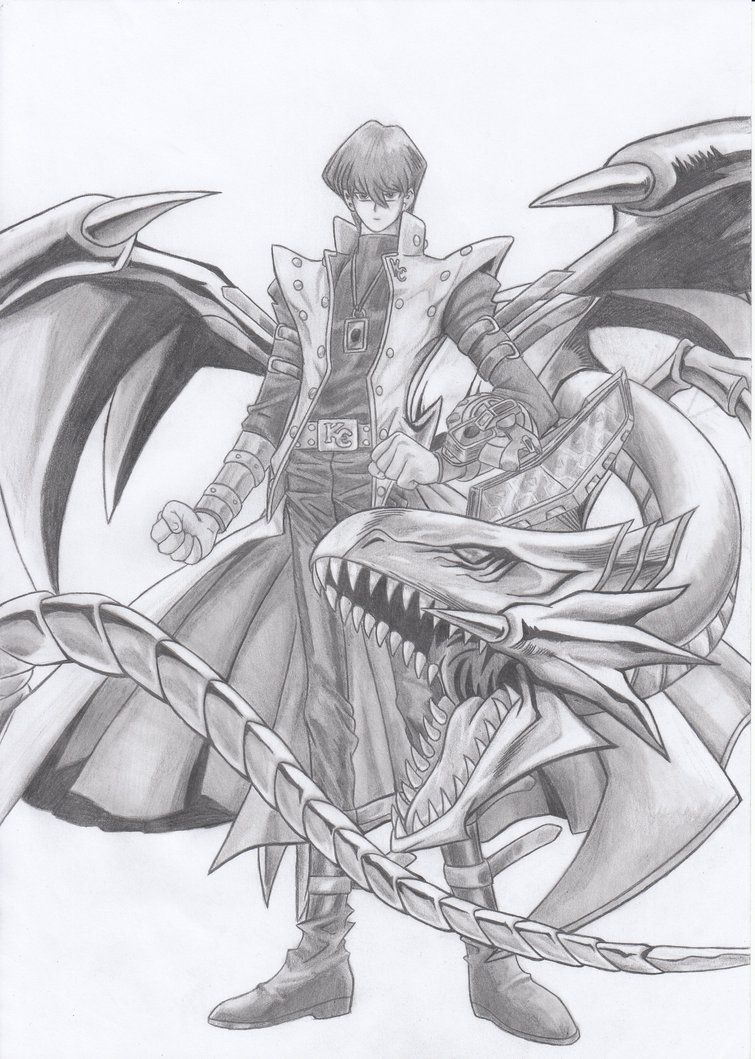 seto kaiba blue eyes white dragon print poster anything else you