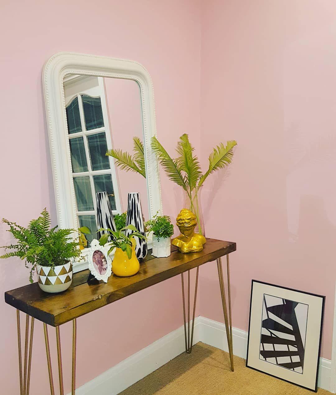 Farrow & Ball Nancy\'s Blushes Paint Color Scheme | Pink Paint Color ...
