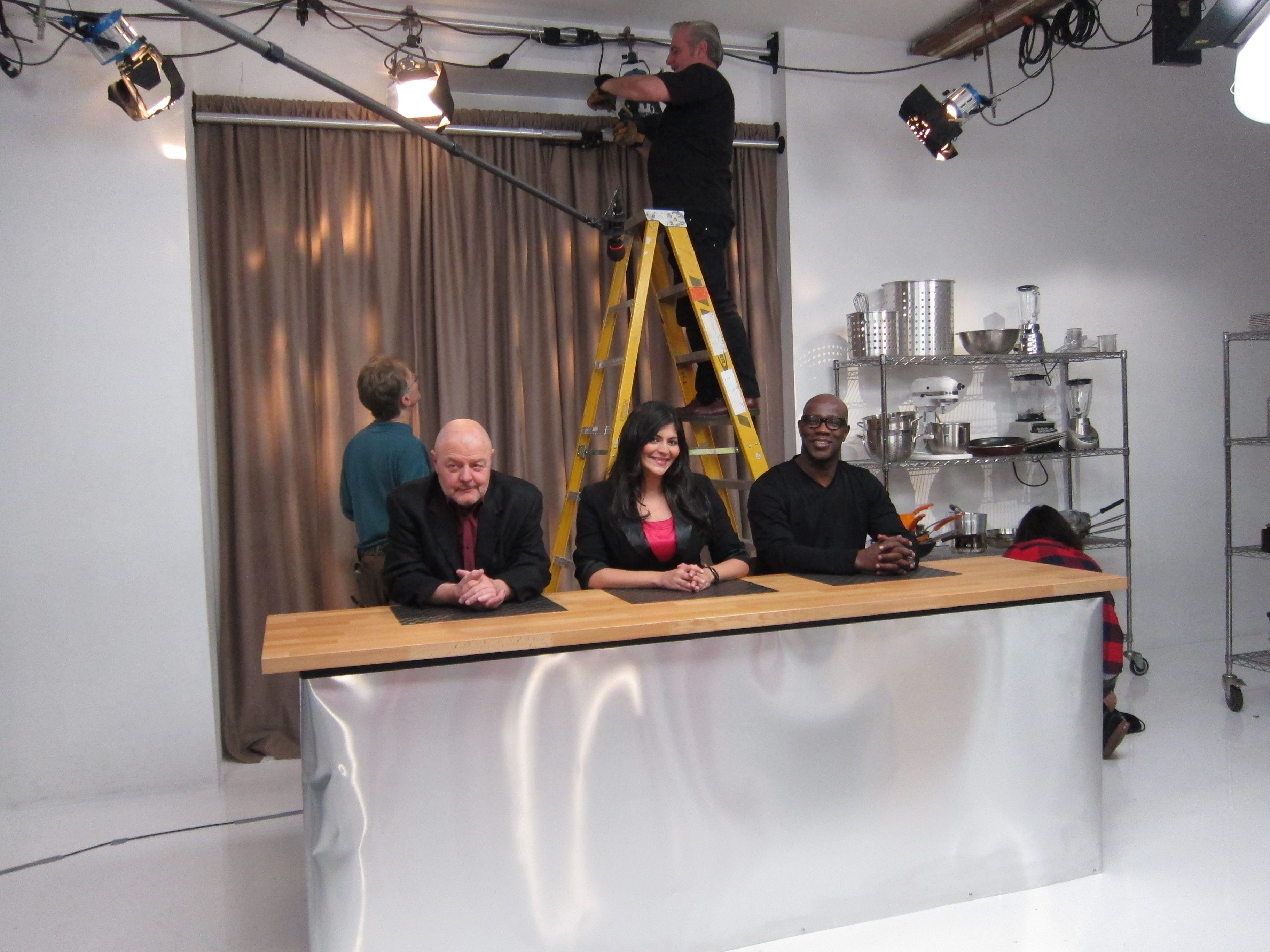 "Behind the Scenes...""Chopped"" Open Your Basket Challenge Promo"
