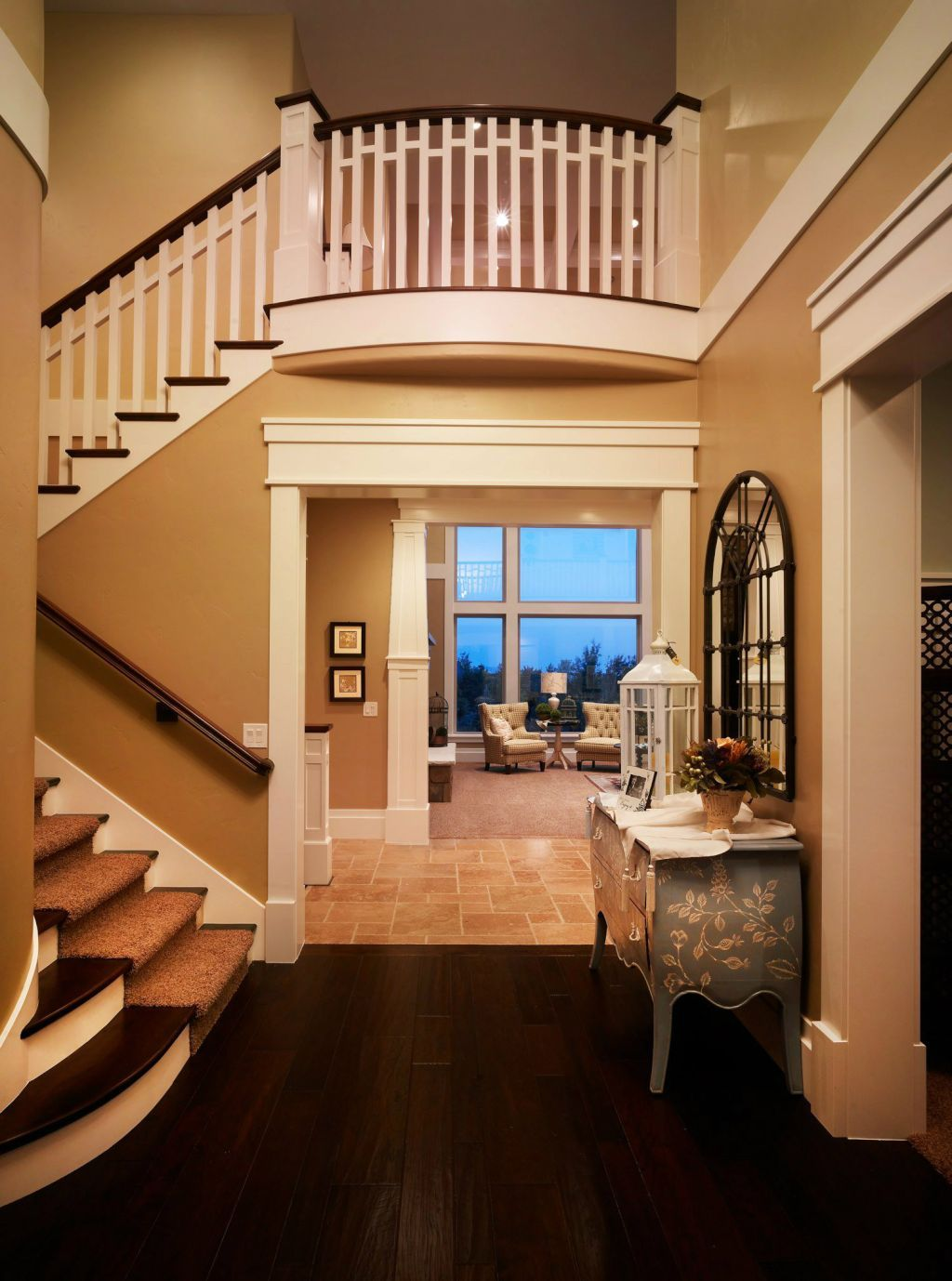 Best Beautiful Staircase Custom Home Designs House Design 400 x 300