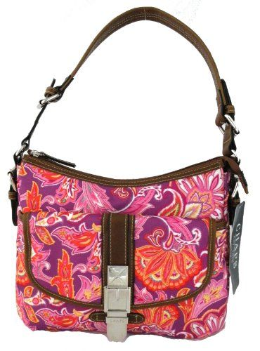 a60b43b2b13f Chaps Exotic Paisley Traveler Exotic Paisley Multi Hobo C... https