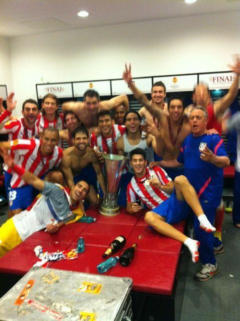 Atlético Madrid, campeón de la UEFA Europa League