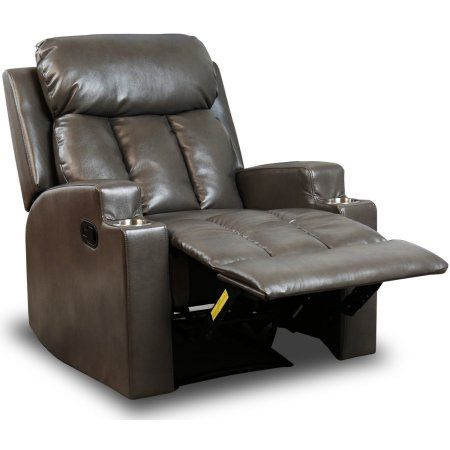 Bonzy Recliner Chair Contemporary Theater Seating 2 Cup
