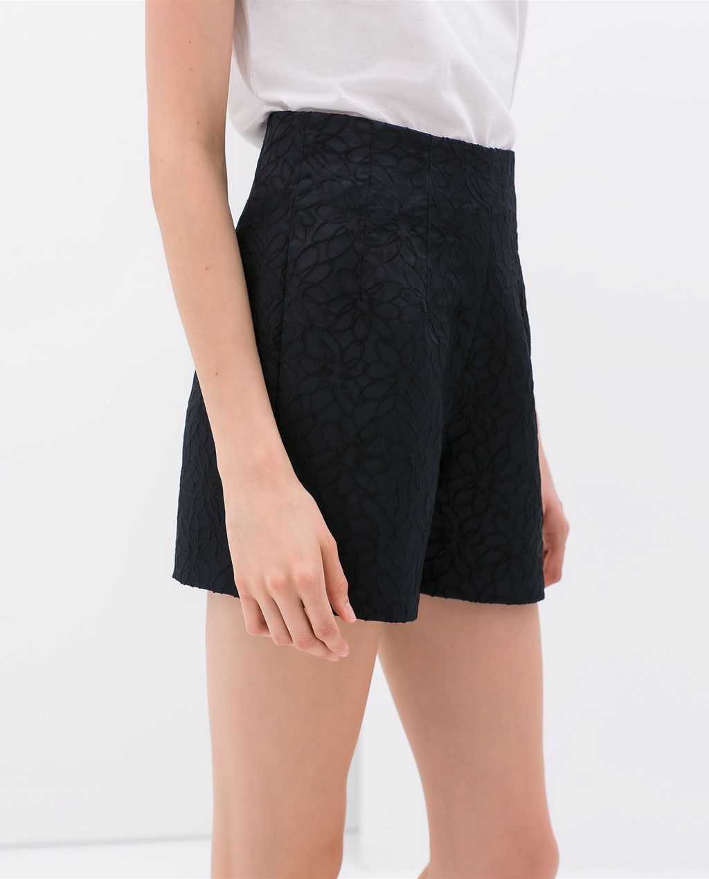 Daisy Denim Shorts - Cute High Waisted Shorts - $36
