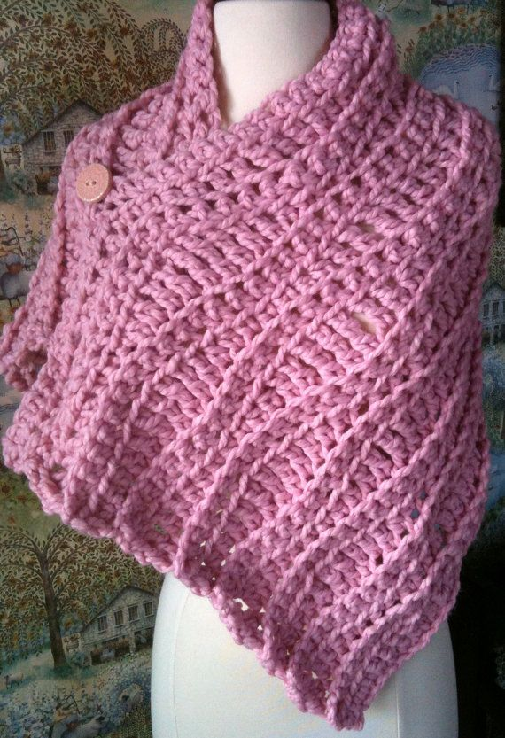 Wavy Stole Crochet Pattern...By Popular Demand... Quick and Fun ...