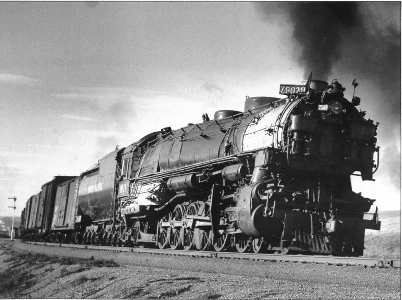 Steam Locomotive - Big Boy