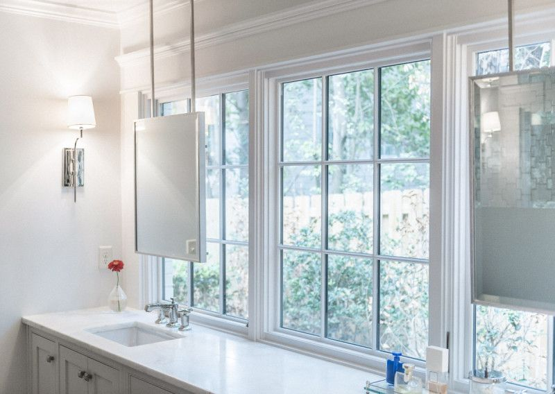 Dull To Dazzling A House Transformed Bathroom Windows