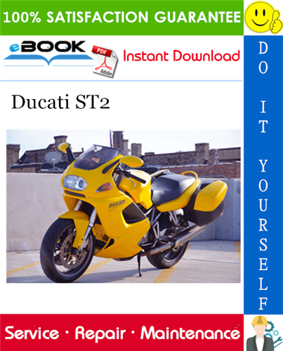Ducati St2 Motorcycle Service Repair Manual Ducati St2 Ducati Repair Manuals