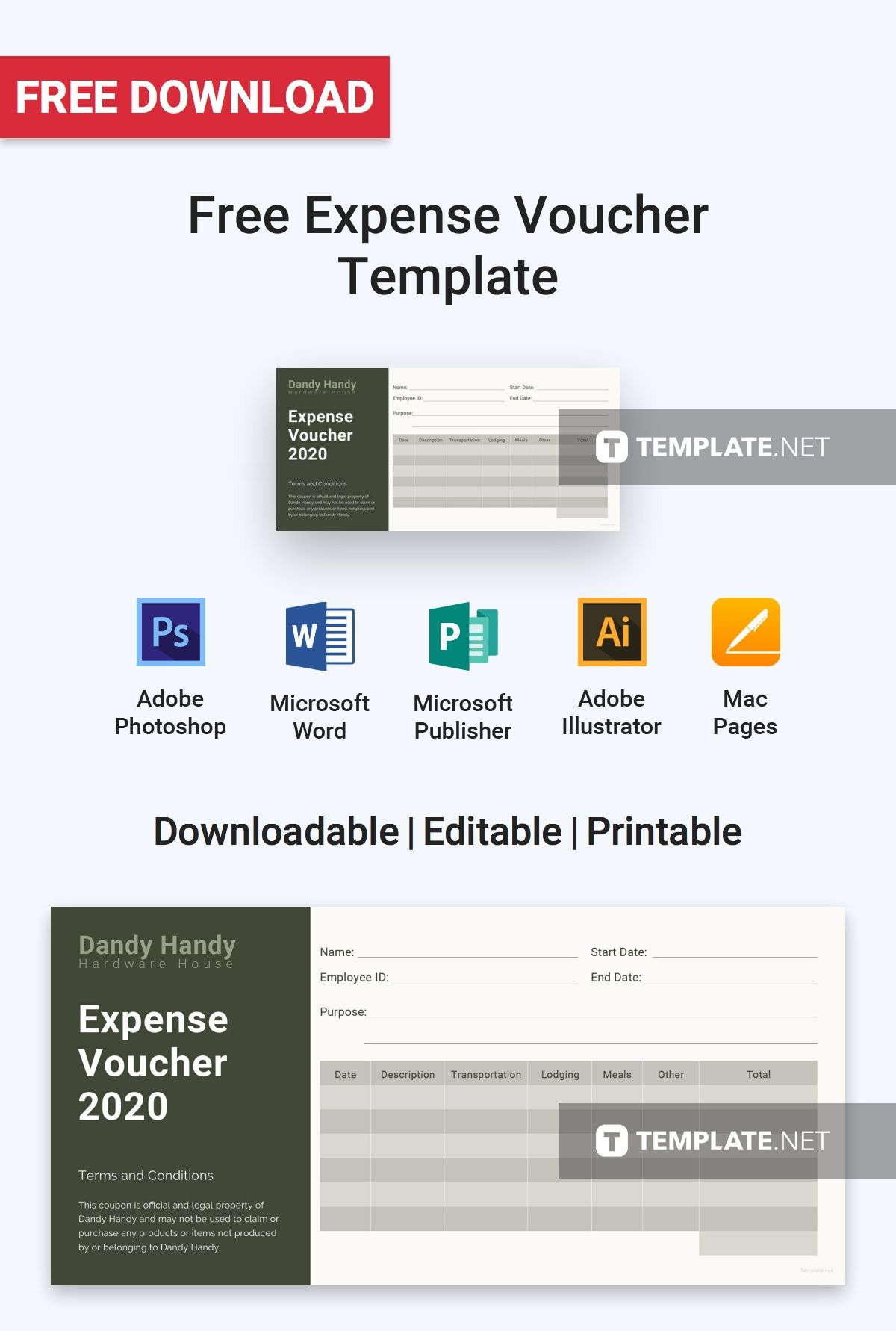 Expense Voucher Template | Pretty Expense Voucher Template Images Expenses Voucher Sample