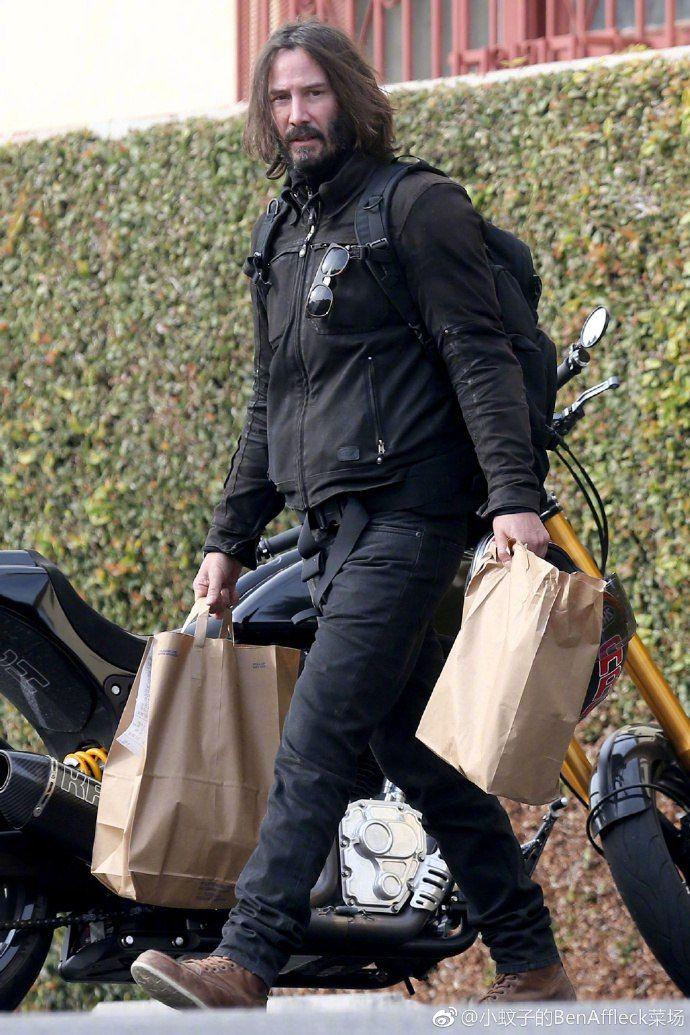 Keanu Reeves LA Januar...