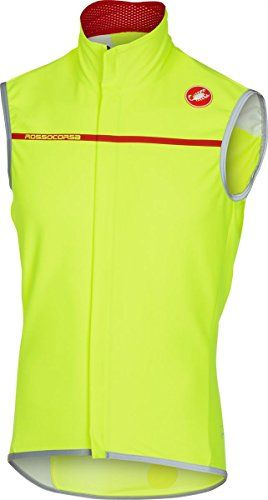 Castelli Perfetto Vest Mens Yellow Fluo L -- Click image for more details.  This bfe92f336