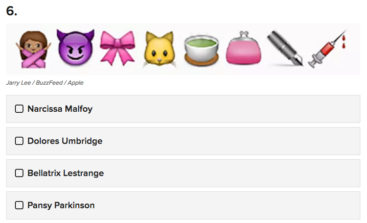 Can You Guess The Harry Potter Character By These Emojis