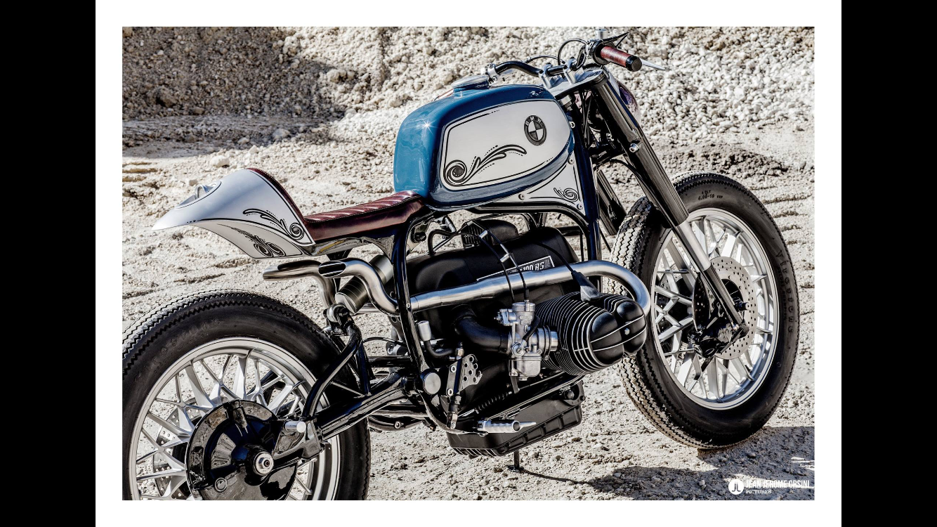 bmw r100rs made by ortolanicustoms caferacer. Black Bedroom Furniture Sets. Home Design Ideas