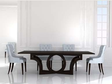 Elite Dining Room Furniture Habersham Milano 96'' X 48'' Rectangular Dining Table With Out