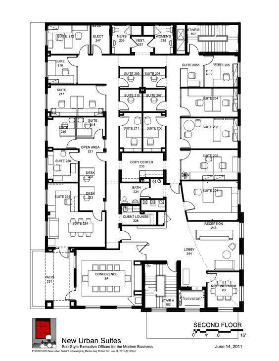 Take a look at our floor plans for offices to rent on the for Garage plans with office space