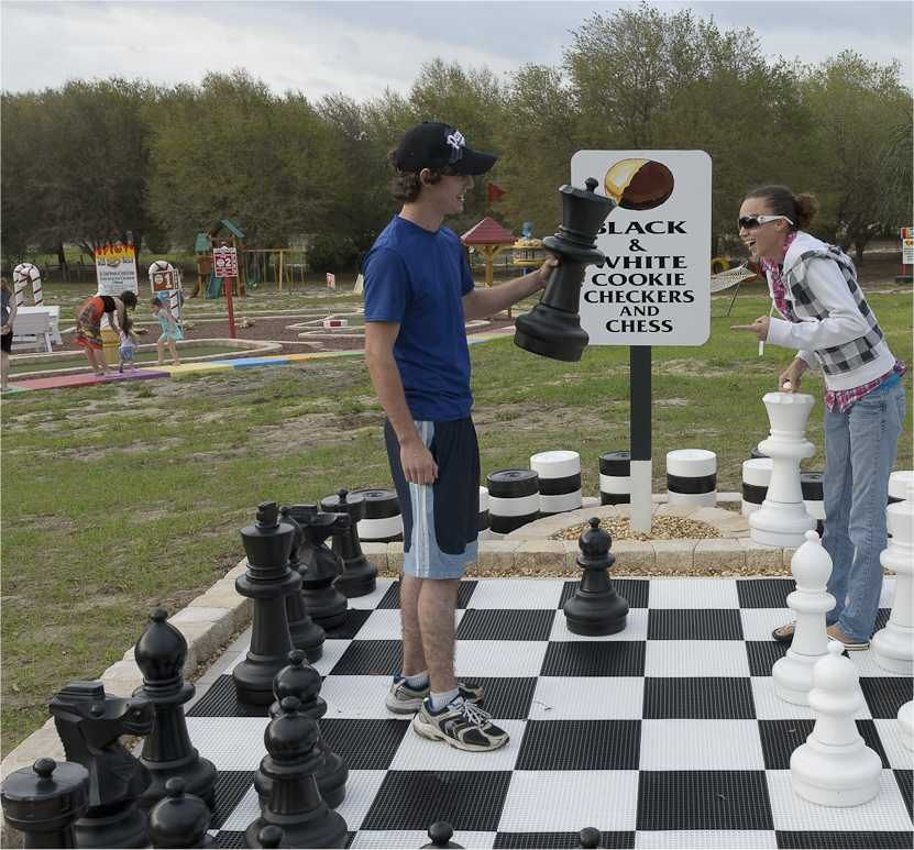 Play Checkers And Chess At Orlando Area's Sweet Escape