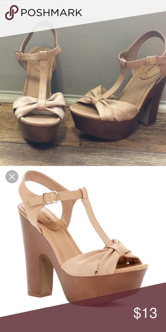 3c258101b7e Breckells Platforms size 8 Never worn Great condition Style No  Rudy-22 Breckelles  Shoes Platforms